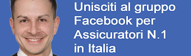 Unisciti al gruppo per assicuratori n. 1 in Italia